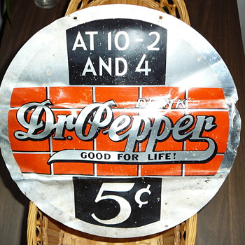 Dr. Pepper sign - Signs