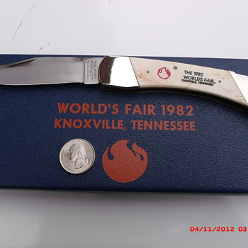 1982 World's Fair knife by Parker