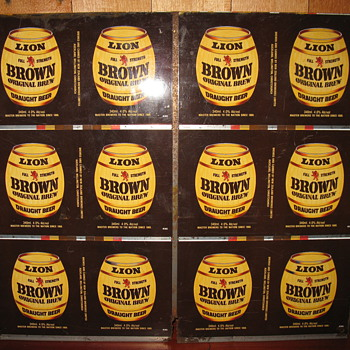Uncut Lion brown cans