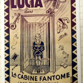 Original &quot;Lucia&quot; Magic Poster
