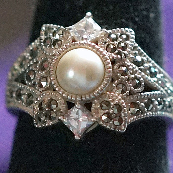 thrift store ring wish I knew more about it! - Costume Jewelry