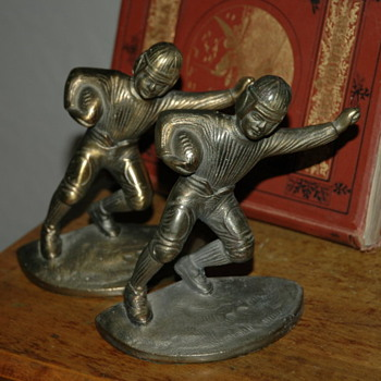 1940's football book ends - Books