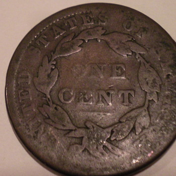 1838 Large cent - US Coins