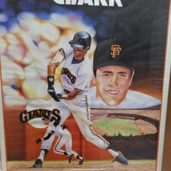 CLARK BASEBALL POSTER - Posters and Prints