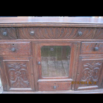 Antique sideboard mystery!