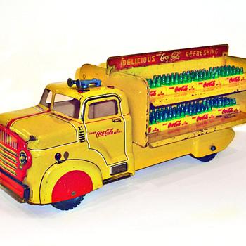 1954 Marx Coca-Cola Delivery Truck