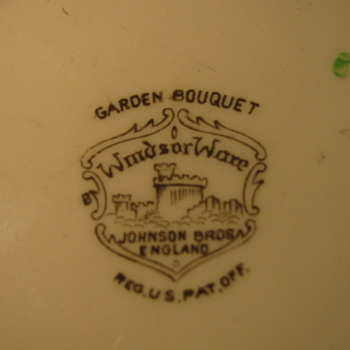 WindsorWare English Saucer