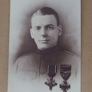 WW1 Distinguished Service Cross Awardee - Photographs