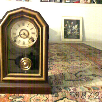 E.Ingraham @ Cq.,  Bristol Conn  Superior - Clocks