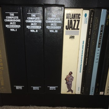 Jazz vinyl boxed sets - Music Memorabilia