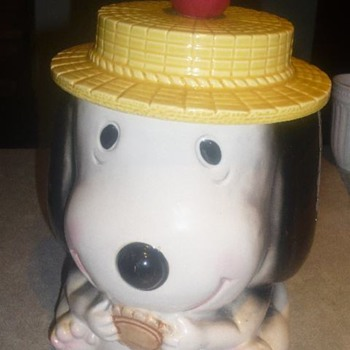 Vgt. SNOOPY Cookie Jar ?