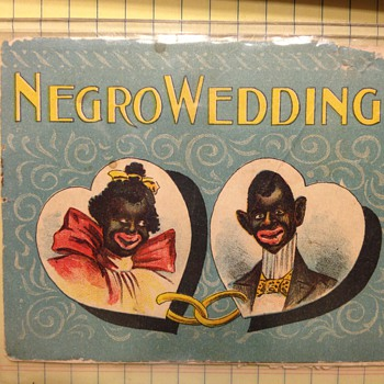 NEGRO WEDDING BLACK AMERICANNA  BOOK - Books