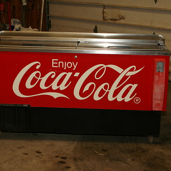 Coke Cooler......What? - Coca-Cola