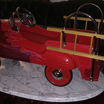 Restored/Customized 1941 Murray Fire Chief w/Flames
