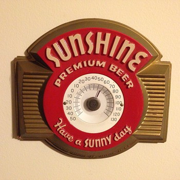 Sunshine Beer Thermometer
