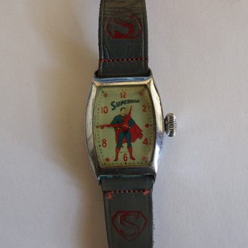 1955 Ingraham Superman Wrist Watch