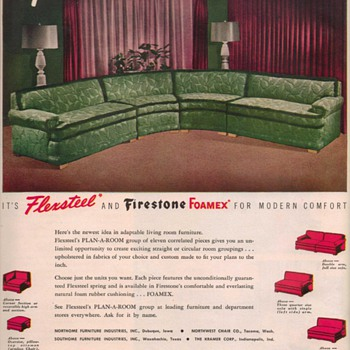 1950 Flexsteel Advertisement - Advertising