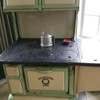Sears Southern King cook stove.