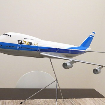 Skyland Models 1/72 Scale EL AL Boeing 747-200 model