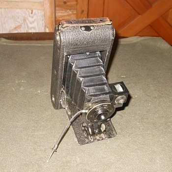 Ansco No. 1A Folding Camera Early Version 1914-1916 - Cameras