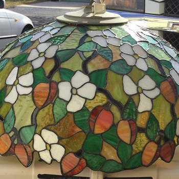 Stained glass Hanging Lamp - Lamps