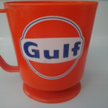 Gulf Service Station Coffee Cup - Petroliana