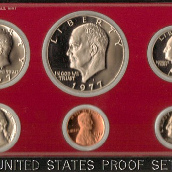 1977 S - U.S. Proof Coins Set - US Coins