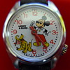 1983 Mickey & Pluto (animated head) Wristwatch