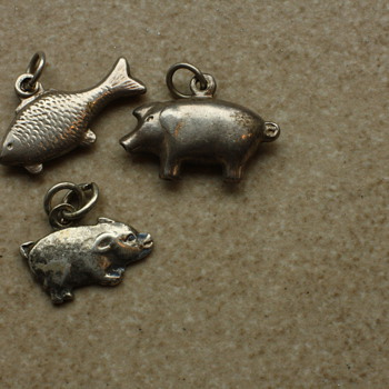 Some more silver charms