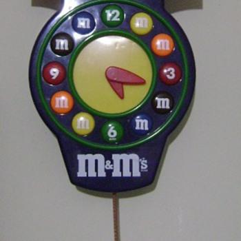M & M Clock