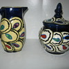 Art Deco Czech Pottery Slip Design Decor 30&#039;s