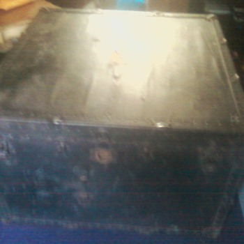 "Antique ""Taylor Made"" Trunk - Furniture"