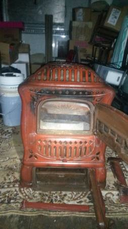 Parlor Stove Made By The Wehrle Co Of Newark Ohio
