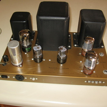 Heathkit Mono Tube Amplifier Model W4 AM - Electronics