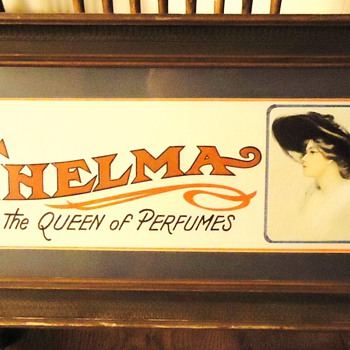 THELMA  The Queen of Perfumes  Print - Advertising