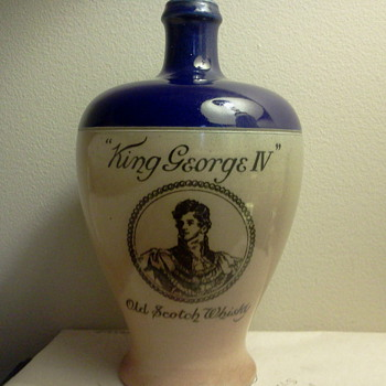 Royal Doulton Whisky Bottle - Bottles