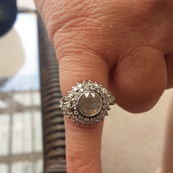 Grandmothers antique Rose cut ring