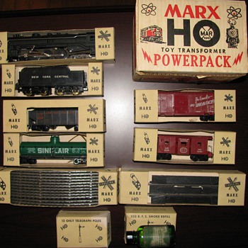 60 Year Old Marx Train Set