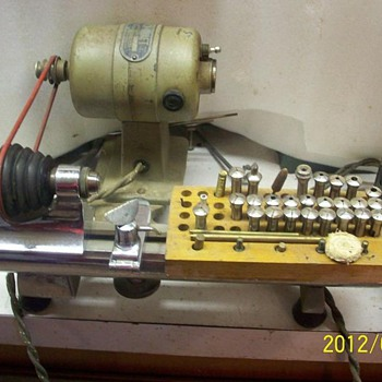Watch-Craft Jewelers Lathe - Tools and Hardware