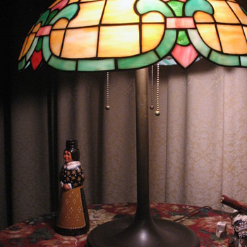 Grandmother's Tiffany Lamp - Lamps