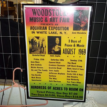 WOODSTOCK POSTER - Posters and Prints