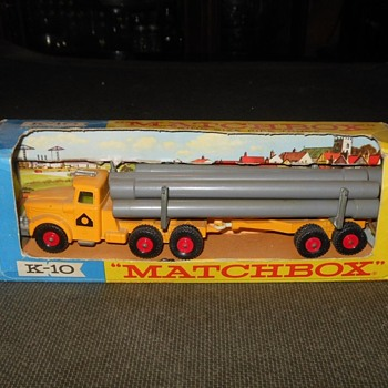 Multiple Matchbox Monday K-10 Scammell Pipe Truck