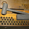 WWII 1942 Marking Outfit for Stamping Metal