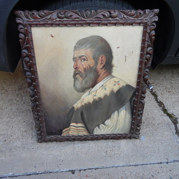 Antique Mexican Painting - Visual Art