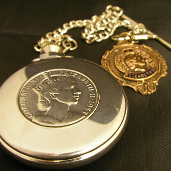 1953 Queen Elizabeth II Coronation Pocket Watch - No. 3