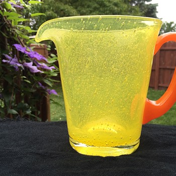 Pulegoso ? Pitcher - Art Glass