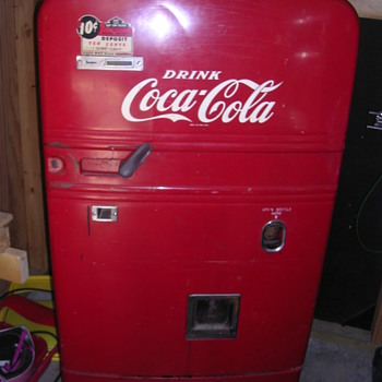My Westinghouse BV-56 still running Coke machine