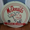 MC DONALDS ADVERTISEMENT TIN
