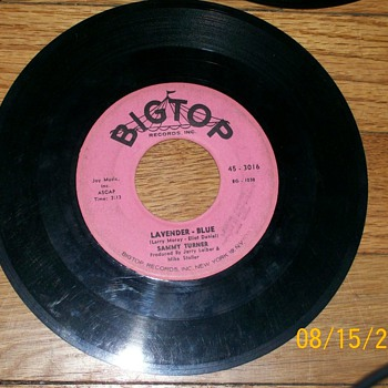 Big Top 45 label and misc 45&#039;s 