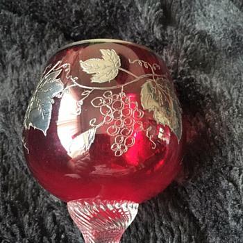Beautiful Ruby Stemware Glass
